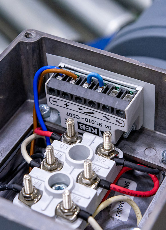 Replacing Clutch And Motor Brake Rectifiers With Keb Rectifiers Keb