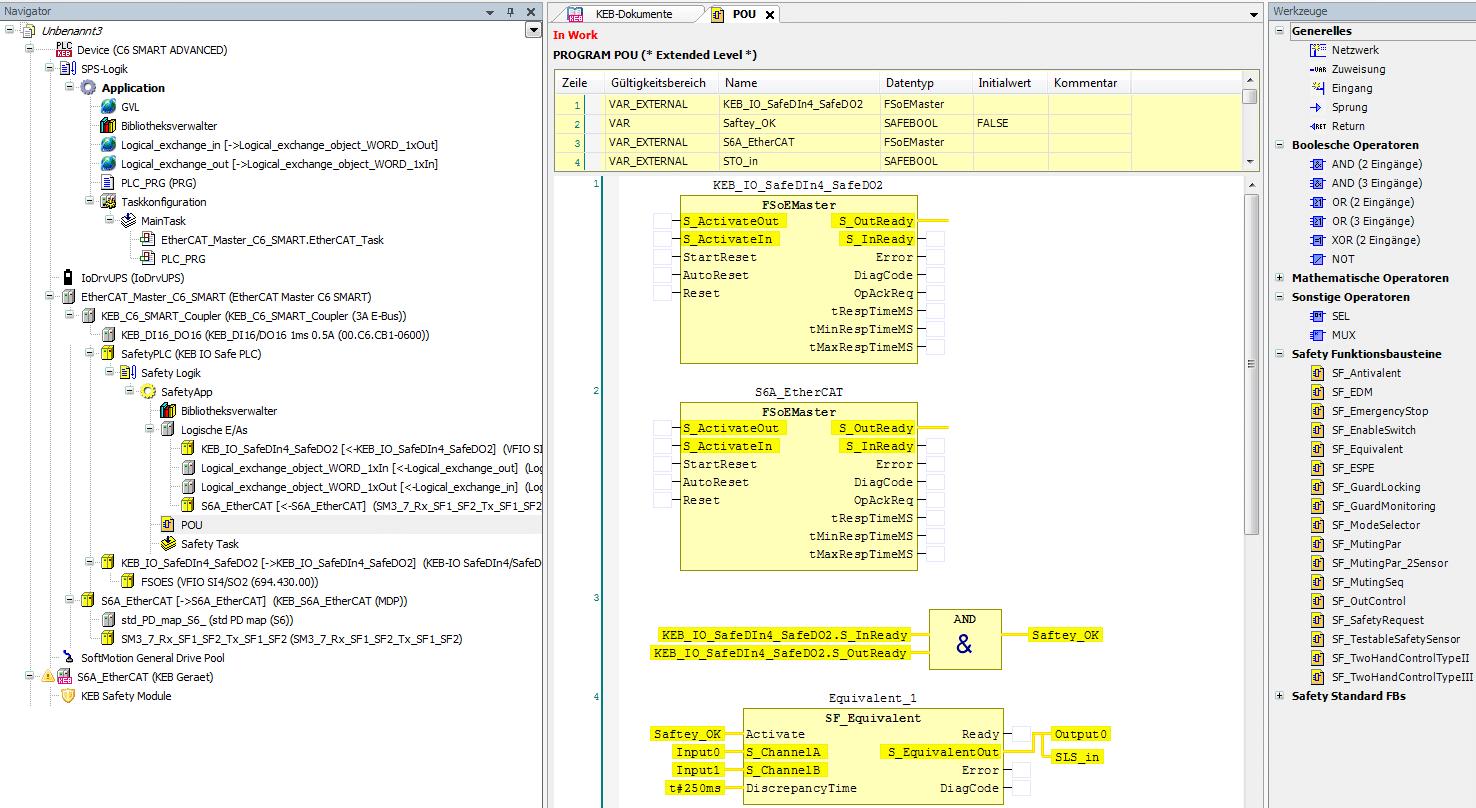 FSoE programming codesys safety